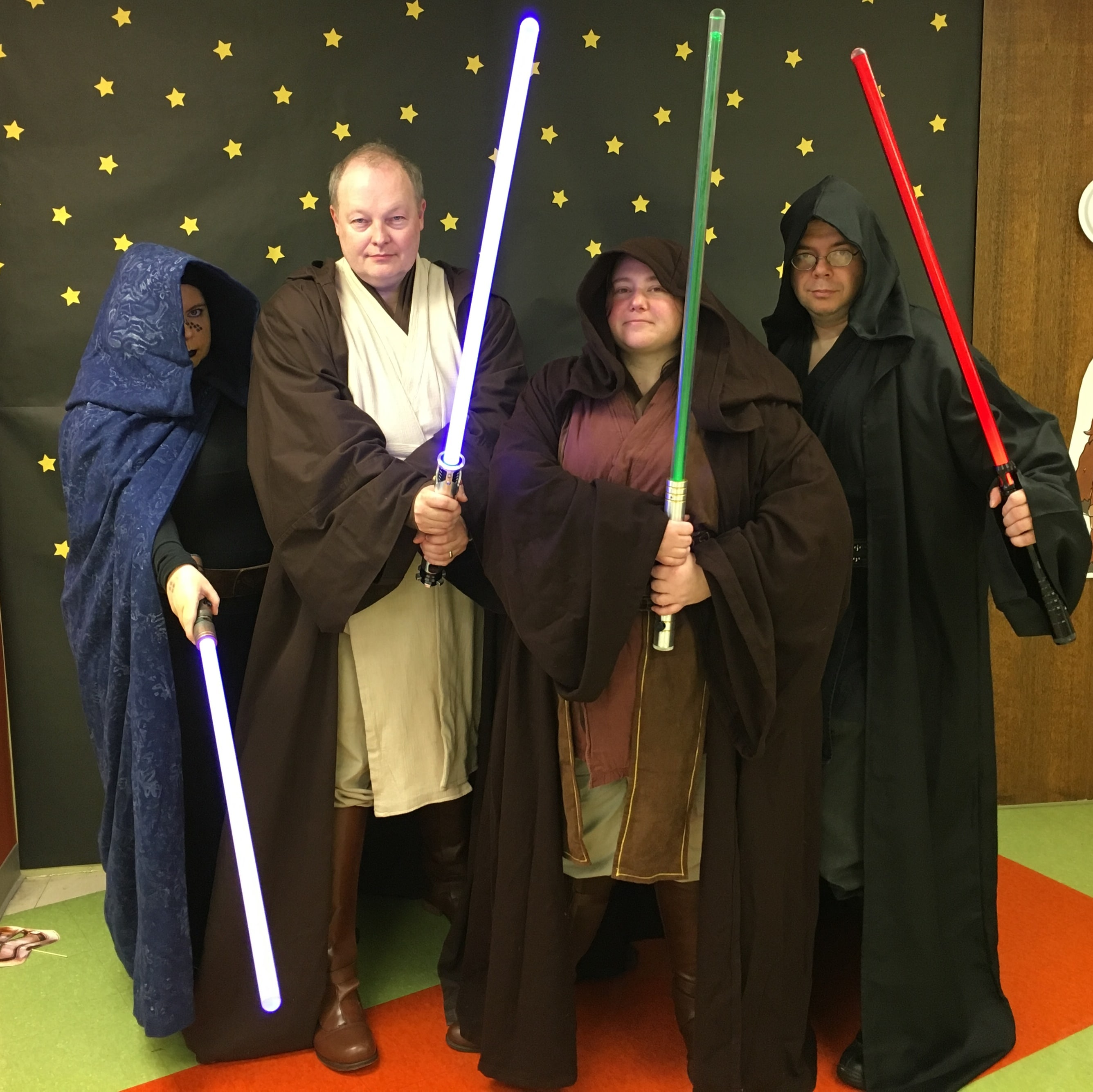 Capital CIty Jedi Knights at Star Wars Reads Day at the East Shore Library