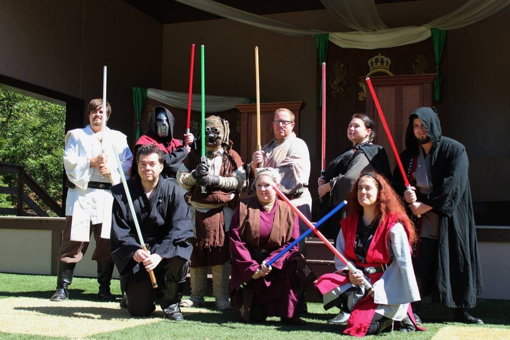 Capital City Jedi Knights at Time Travelors Weekend